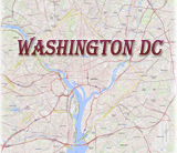 Mapa Washington DC